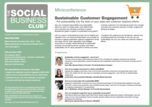 Sustainable Customer Engagement_Miniconference