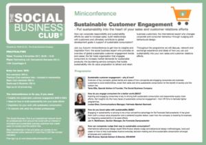 Sustainable Customer Engagement_Miniconference