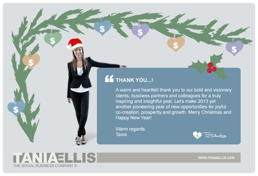 Seasons greetings tania ellis the social business company m4hsunfo Gallery