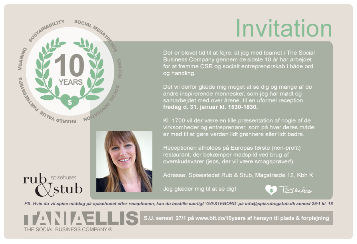 10-year Invite