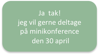 KNAP TIL 30. APRIL