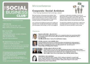 Corporate Social Activism_Miniconference
